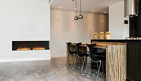 Flex 140RC.BXL Right Corner - In-Situ Image by EcoSmart Fire