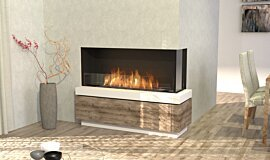 Dining Room Residential Fireplaces Flex Fireplace Idea