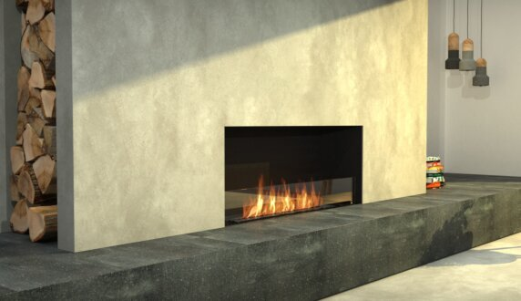 Living Area - Flex 50SS Flex Fireplace by EcoSmart Fire