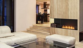 Flex 122LC.BXL Flex Fireplace - In-Situ Image by EcoSmart Fire
