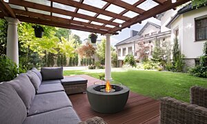 Pod 40 Fire Pit - In-Situ Image by EcoSmart Fire