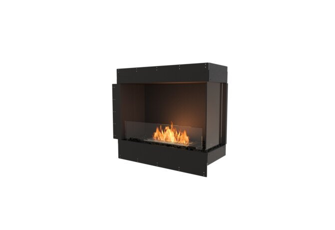 Flex 32RC Right Corner - Ethanol / Black / Uninstalled View by EcoSmart Fire