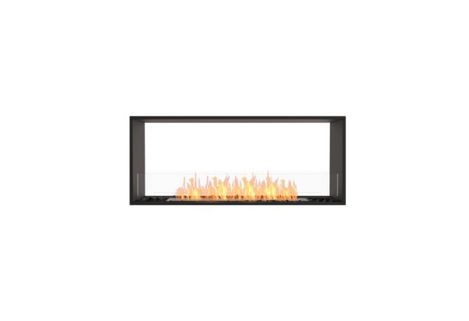 Flex 50DB Flex Fireplace - Ethanol / Black / Installed View by EcoSmart Fire