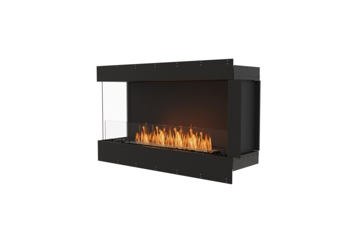 Flex 50LC Left Corner - Ethanol / Black / Uninstalled View by EcoSmart Fire