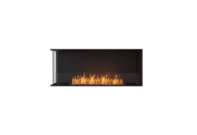 Flex 50LC Flex Fireplace - Ethanol / Black / Installed View by EcoSmart Fire