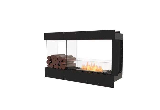 Flex 50PN.BXL Flex Fireplace - Ethanol / Black / Uninstalled View by EcoSmart Fire