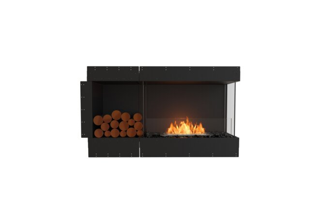 Flex 50RC.BXL Flex Fireplace - Ethanol / Black / Uninstalled View by EcoSmart Fire