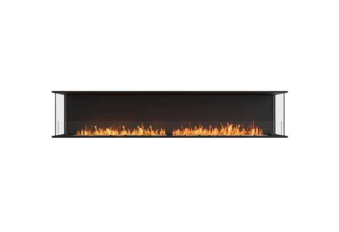 Flex 104 - Ethanol / Black / Installed View by EcoSmart Fire