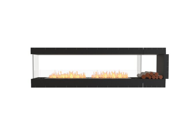 Flex 104PN.BXR Peninsula - Ethanol / Black / Uninstalled View by EcoSmart Fire