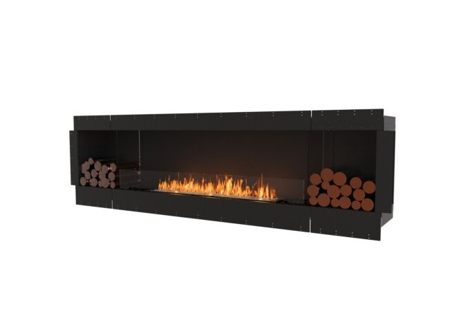 Flex 104SS.BX2 Single Sided - Ethanol / Black / Uninstalled View by EcoSmart Fire
