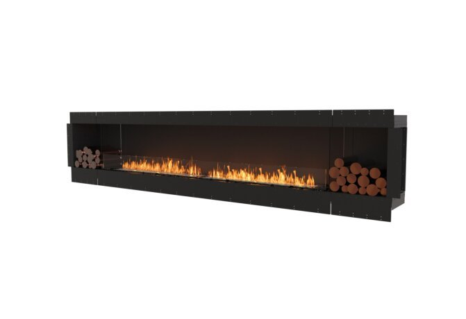 Flex 140SS.BX2 Single Sided - Ethanol / Black / Uninstalled View by EcoSmart Fire