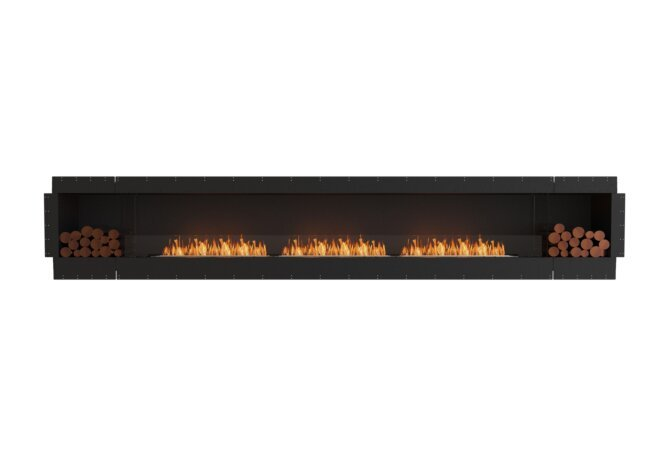 Flex 158SS.BX2 Single Sided - Ethanol / Black / Uninstalled View by EcoSmart Fire