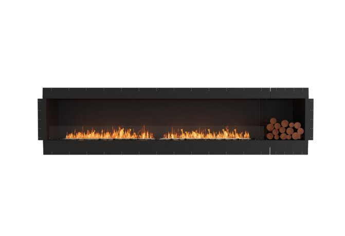 Flex 122SS.BXR Flex Fireplace - Ethanol / Black / Uninstalled View by EcoSmart Fire