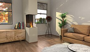 Flex 18PN Flex Fireplace - In-Situ Image by EcoSmart Fire