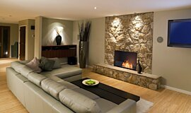 Lounge Room Residential Fireplaces Flex Fireplace Idea