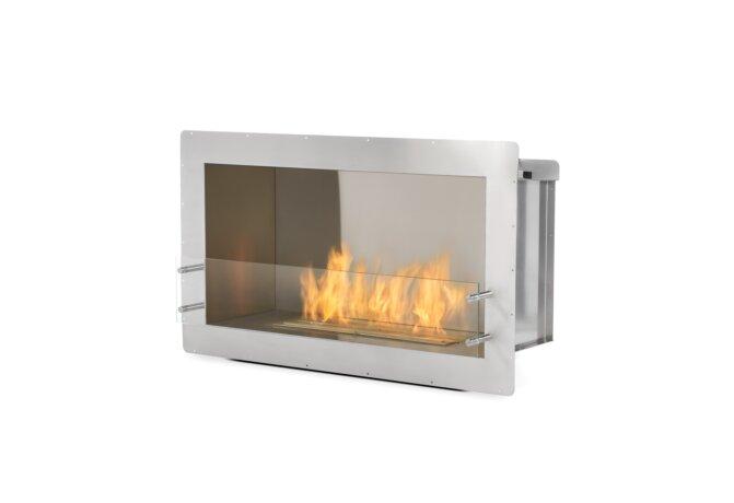 Firebox 1000SS Fireplace Insert - Ethanol / Stainless Steel by EcoSmart Fire