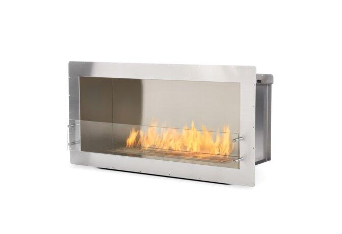 Firebox 1200SS Fireplace Insert - Ethanol / Stainless Steel by EcoSmart Fire