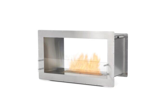 Firebox 1000DB Fireplace Insert - Ethanol / Stainless Steel by EcoSmart Fire