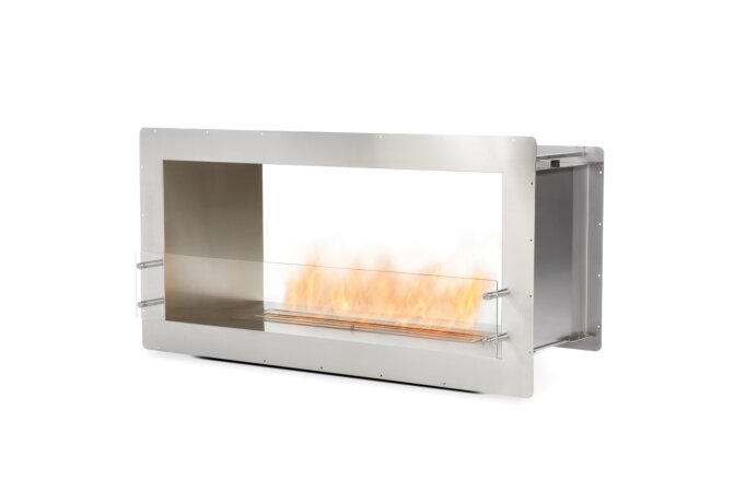 Firebox 1200DB Fireplace Insert - Ethanol / Stainless Steel by EcoSmart Fire