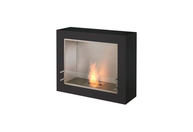 Aspect Designer Fireplace - Ethanol / Black by EcoSmart Fire