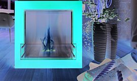 Merkmal Showroom Commercial Fireplaces Designer Fireplace Idea