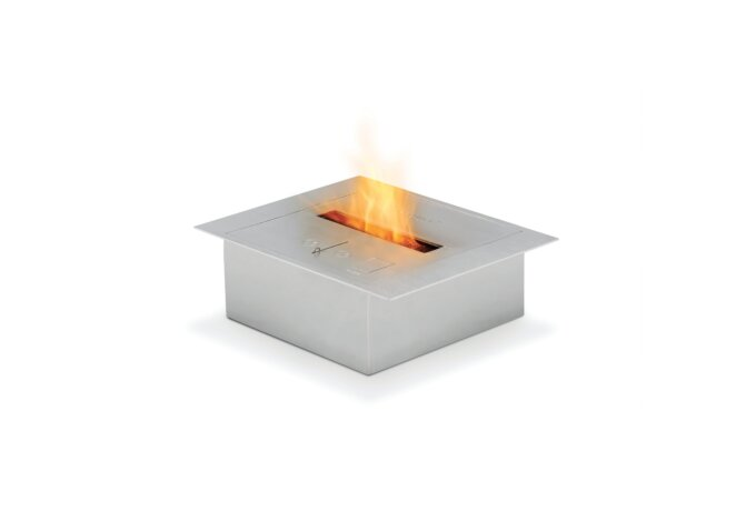 BK2UL Ethanol Burner - Ethanol / Stainless Steel by EcoSmart Fire