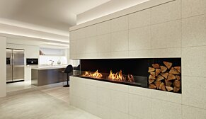 Flex 60LC.BXL Left Corner - In-Situ Image by EcoSmart Fire