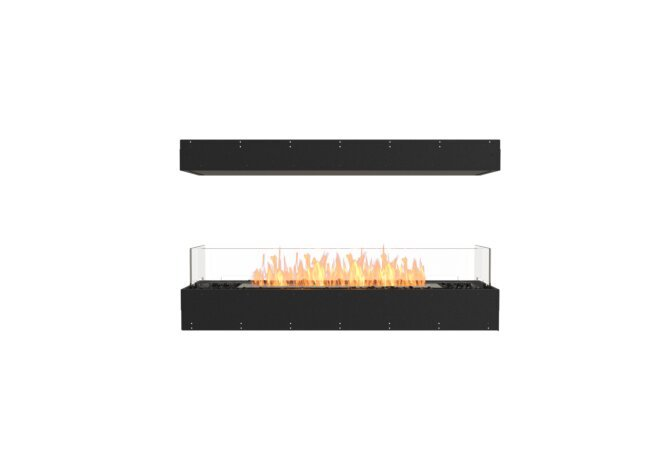 Flex 50IL Island - Ethanol / Black / Uninstalled View by EcoSmart Fire