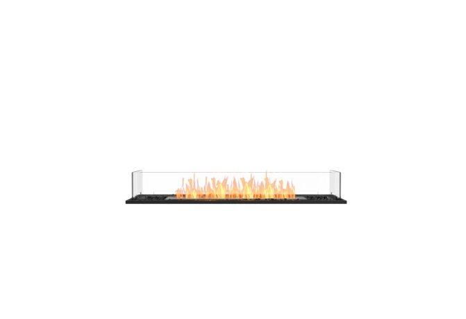Flex 50BN Bench - Ethanol / Black / Installed View by EcoSmart Fire