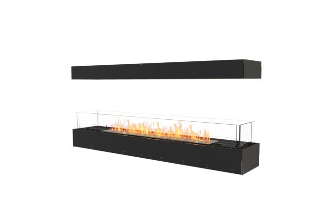 Flex 68IL Island - Ethanol / Black / Uninstalled View by EcoSmart Fire