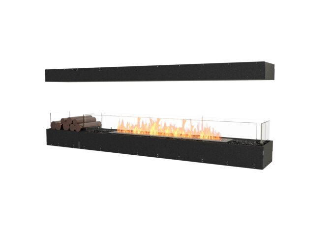 Flex 86IL.BX1 Island - Ethanol / Black / Uninstalled View by EcoSmart Fire