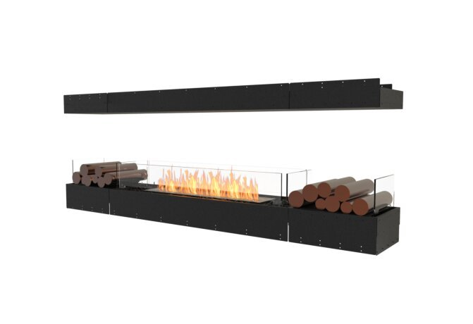 Flex 86IL.BX2 Island - Ethanol / Black / Uninstalled View by EcoSmart Fire