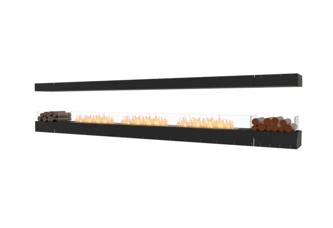 Flex 158IL.BX2 Island - Ethanol / Black / Uninstalled View by EcoSmart Fire