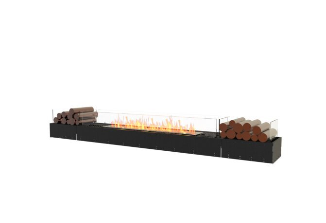 Flex 104BN.BX2 Bench - Ethanol / Black / Uninstalled View by EcoSmart Fire
