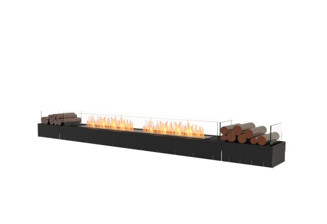 Flex 122BN.BX2 Bench - Ethanol / Black / Uninstalled View by EcoSmart Fire