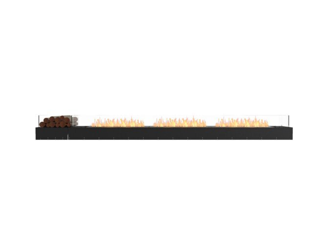 Flex 140BN.BX1 Bench - Ethanol / Black / Uninstalled View by EcoSmart Fire