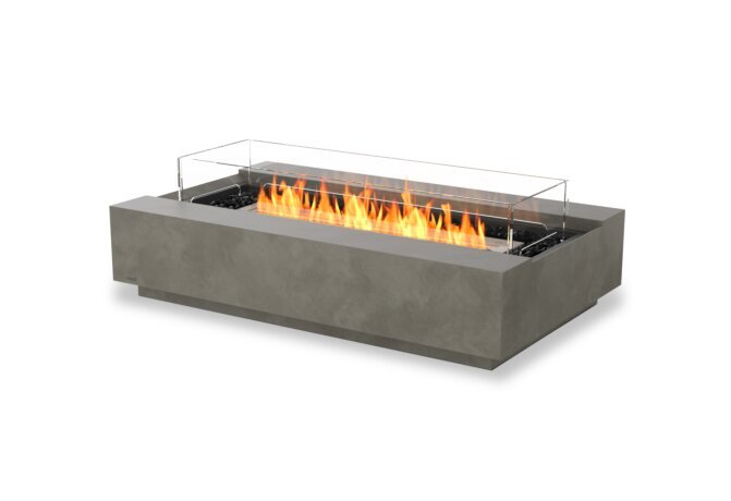 Cosmo 50 Fire Table - Ethanol / Natural / Optional Fire Screen by EcoSmart Fire