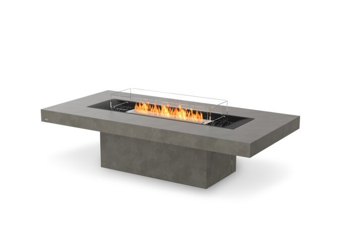 Gin 90 (Chat) Fire Table - Ethanol / Natural / Optional Fire Screen by EcoSmart Fire