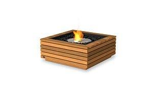 Base 30 Indoor Fireplace - Studio Image by EcoSmart Fire
