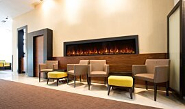 Lobby Electric Fireplaces Electric Sery Idea