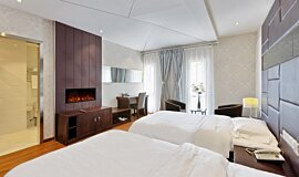 Hotel Room Hospitality Fireplaces 嵌入式燃烧室 Idea