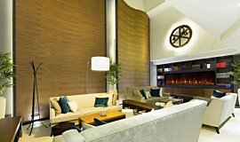 Lobby Hospitality Fireplaces 嵌入式燃烧室 Idea