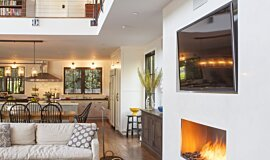 Studio City  Residential Fireplaces Built-In Fire Idea