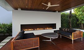 Flex 158SS Single Sided Fireplace by EcoSmart Fire Fireplace Inserts Built-In Fire Idea