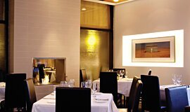 Equinox Restaurant Commercial Fireplaces Built-In Fire Idea