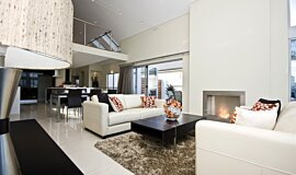 North Coogee Single Sided Fireboxes BK Burners Built-In Fire Idea