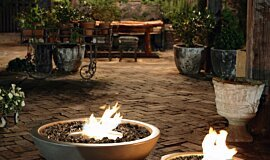 The Grounds Freestanding Fireplaces Fire Pit Idea