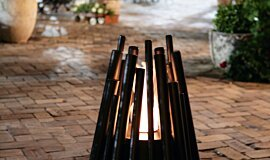 The Grounds Sydney Outdoor Fireplaces Freestanding Fire Idea
