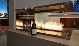 Sirens Bar Indoor Fireplaces Ethanol Burner Idea