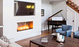 Studio City Fireplace Inserts Built-In Fire Idea